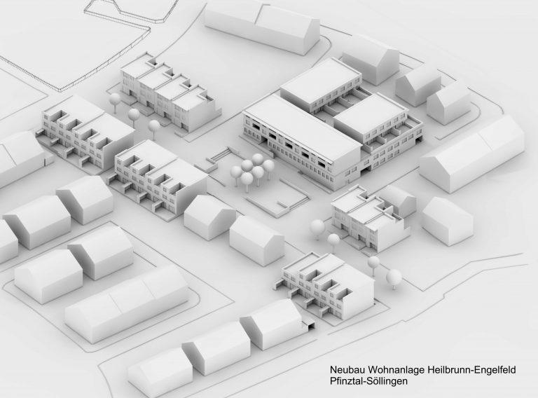 Neubau Wohnanlage Heilbrunn Engelsfeld