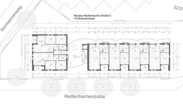 Neubau Redtenbacherstraße